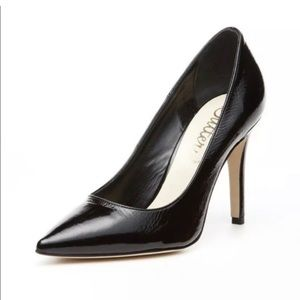 Anthropologie Butter Black Patent Leather …